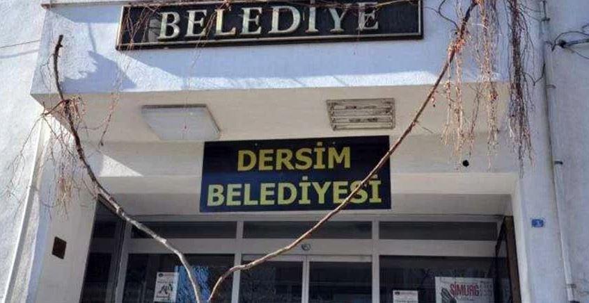 """Tunceli Belediyesi """"Dersim Belediyesi"""" Oldu"""
