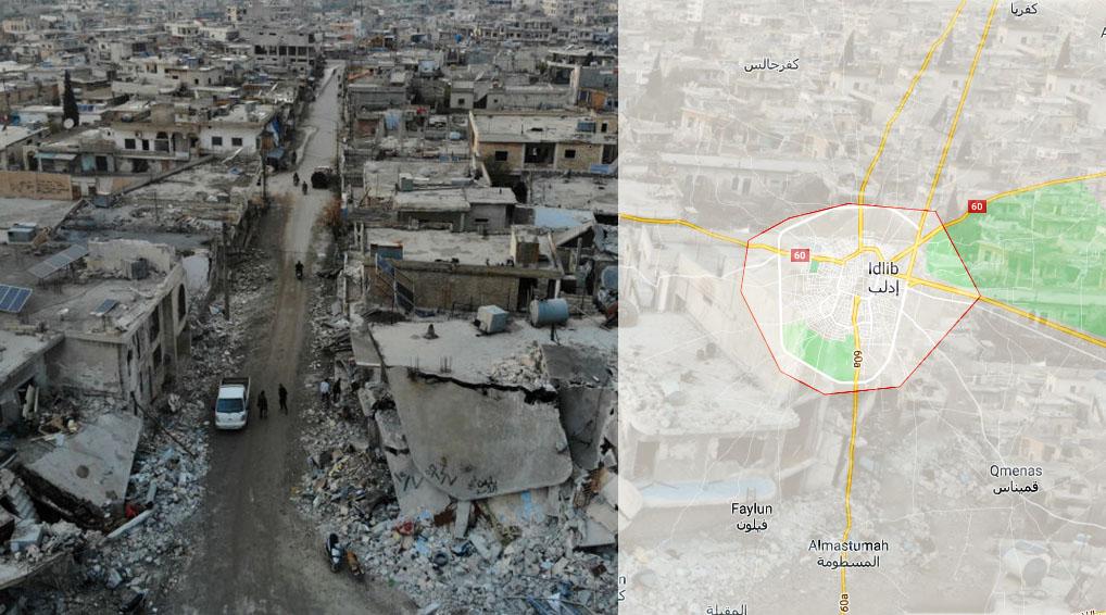 İdlib Nerede, İdlib'in Nüfusu Kaç ve Türkiye'ye Uzaklığı Nedir?