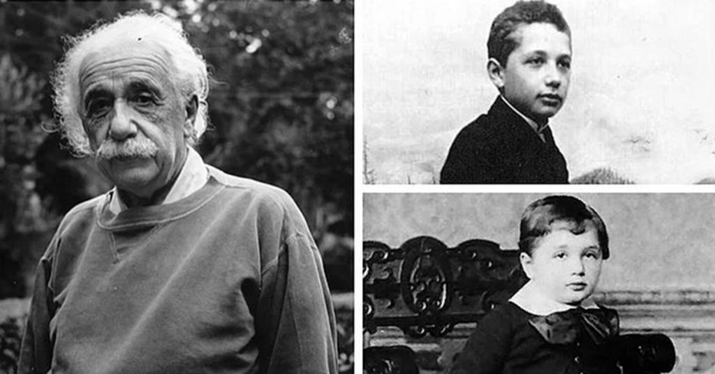 Albert Einstein Çocukluğu