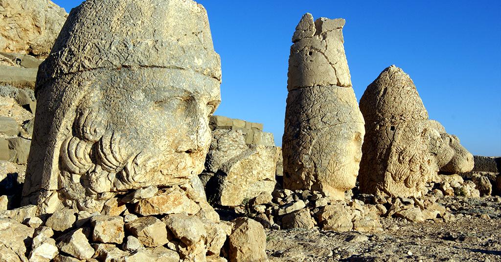 Komagene Uygarlığı-Nemrut Dağı Milli Parkı/Adıyaman